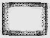 Grunge 边框 — 图库照片