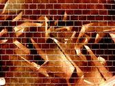 Graffiti wall — Stock Photo