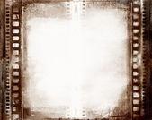 Grunge 影片帧 — 图库照片