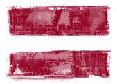 флаг латвии — Стоковое фото