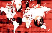 Carte du monde — Photo