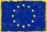 Flag of European Union — Stock Photo