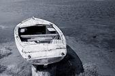 Stará dřevěná loď — Stock fotografie