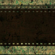 Stock Photo: Grunge film frame