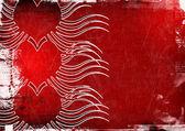 Grunge Valentines day background — Stock Photo