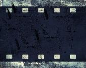 Grunge film frame — Photo