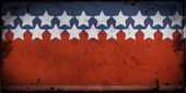Stars and stripes US background — Zdjęcie stockowe