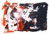 抽象的な水彩画 — ストック写真