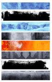 Banner stile grunge — Foto Stock
