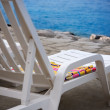 Beach chair — Stock Photo #48266565