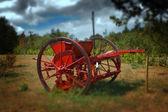 Old farm machine - artistic processed photo — Zdjęcie stockowe