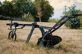 Old farm plow — Zdjęcie stockowe
