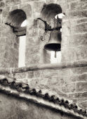 Church bell, artistic toned photo — Photo