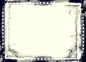 Grunge retro style frame for your projects — Stock Photo