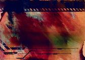 抽象拼贴画 — 图库照片