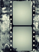 Grunge film frame with space for text or image — Stock Photo