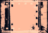 Grunge film frame with space for your text or image — ストック写真