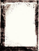 Grunge retro style abstract textured frame for your projects — Stock Photo