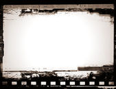 Grunge film frame with space for your text or image — Foto de Stock