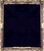 Grunge retro style abstract textured frame for your projects — Zdjęcie stockowe
