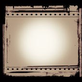Grunge film frame with space for your text or image — Stock Photo