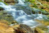 Beautiful waterfalls at Plitvice Lakes — Stock Photo