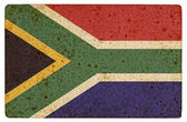 Grunge  Flag of South Africa — Foto Stock