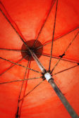 Orange Umbrella — Foto de Stock