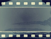 Grunge film frame with space for text or image — Foto de Stock