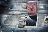 Old pirate ship — Stock Photo
