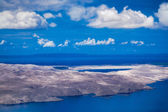 Mediterranean islands as seen from the air — Stock Photo