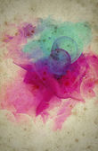 Grunge collage, watercolor style , great background or texture — Foto Stock