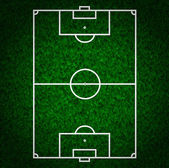 Football , Soccer Field — Foto de Stock