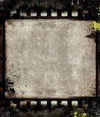 Grunge film frame with space for text or image — Stock fotografie