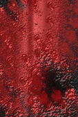 Red Blood  - Extreme grunge digitaly created texture or backgrou — Stock Photo
