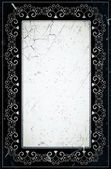 Grunge retro style decorative frame — Photo
