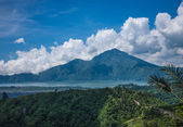 Old Indonesian volcano landscape — Stock Photo