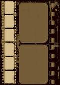 Grunge film frame — Stock Vector