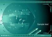 Obchodní zázemí — Stock vektor