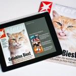 E-Magazine — Stock Photo