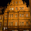 Traditional Hotel Zum Ritter in Heidelberg, Germany — Stock Photo