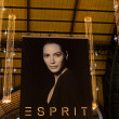 Stock Photo: Esprit advertising in main station of Hamburg, Germany
