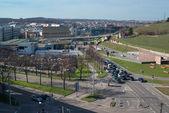 Pragsattel intersection in Stuttgart, Germany — Stock Photo