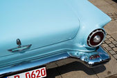 Ford Thunderbird classic car detail — Stock Photo