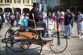 Benz Patent-Motorwagen — Stock Photo
