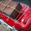 Stock Photo: Austin Healey 3000 - classic car detail