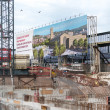 S21 Construction Site at Stuttgart main railway station — Stock Photo #27217107