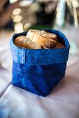 Decorative bread basket — Stock Photo