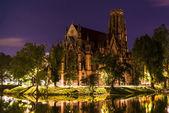 Johanneskirche, Stuttgart, Germany — Stock Photo