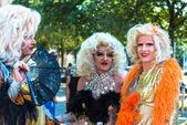 Dragqueens on Christopher Street Day — Stock Photo